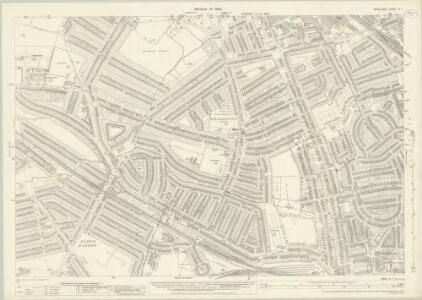 Middlesex X.7 (includes: Harrow) - 25 Inch Map