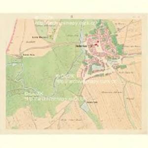 Dobrzan (Dobřany) - c1202-1-007 - Kaiserpflichtexemplar der Landkarten des stabilen Katasters