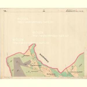 Hammern - c1768-1-023 - Kaiserpflichtexemplar der Landkarten des stabilen Katasters