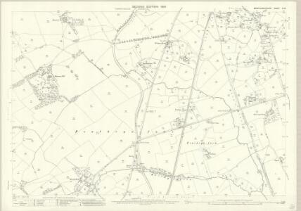 Montgomeryshire XI.13 (includes: Llandrinio; Llandysilio) - 25 Inch Map