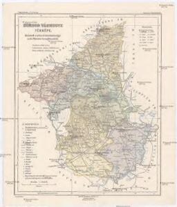 Borsod vármégye térképe