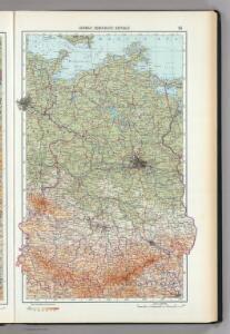 85.  German Democratic Republic (East Germany).  The World Atlas.