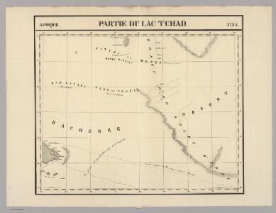 Partie du Lac Tchad. Afrique 23.