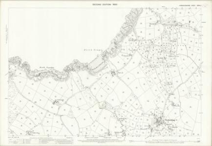 Caernarvonshire XXXIX.2 (includes: Tudweiliog) - 25 Inch Map