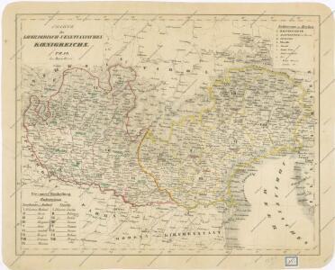 Charte des Lombardisch - Venetianischen Koenigreiche