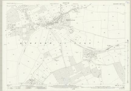 Warwickshire XLIII.14 (includes: Bickmarsh; Bidford on Avon; Cleeve Priors) - 25 Inch Map