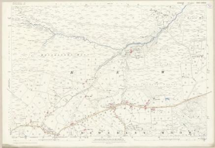 Yorkshire CXXXV.6 (includes: Appletreewick; Bewerley) - 25 Inch Map