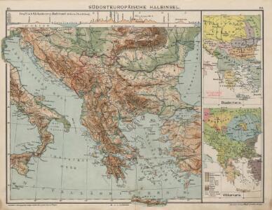 Südosteuropäische Halbinsel