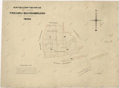 Hospodářská mapa revíru Tachov-Studánka