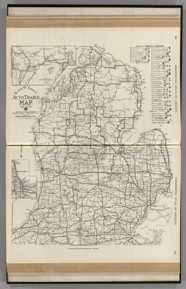 AutoTrails Map, Southern Peninsula of Michigan, Northern ...