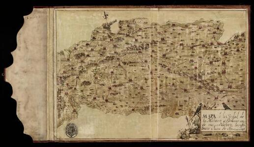 Mapa de la ciudad de La Habana y poblaciones de sus alrededores / lo dibuxo Juan de Olmedilla