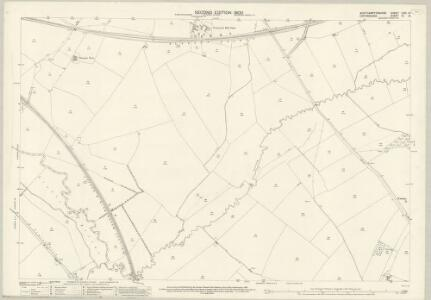 Northamptonshire LVIII.14 (includes: Bodicote; East Adderbury; Kings Sutton; Middleton Cheney; Warkworth) - 25 Inch Map
