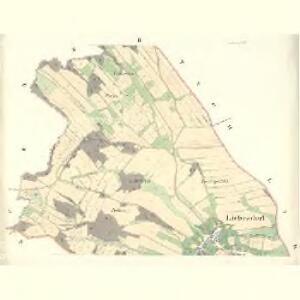 Liebesdorf (Obindy) - m2094-1-002 - Kaiserpflichtexemplar der Landkarten des stabilen Katasters