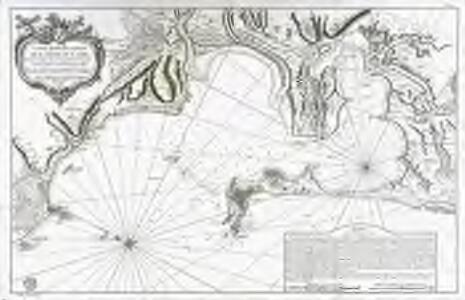 Carte hydrographique de la baye de Cadix