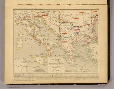 La Grece et l'Italie, 306 a 410, ap. J.C.