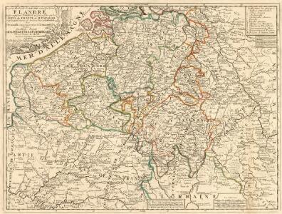 La partie Meridionale des Pays Bas, Connue sous le nom de Flandre