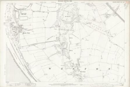 Cheshire XXIV.6 & 7 (includes: Hale; Runcorn) - 25 Inch Map