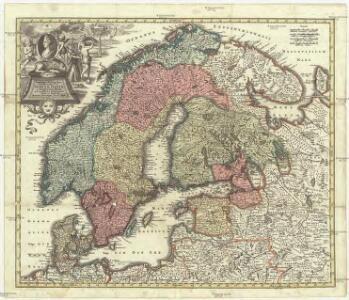 Synopsis plagae septemtrionalis sive Sueciae Daniae et Norwegiae regn. accuratissime delineatum