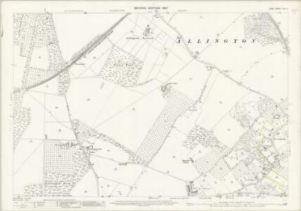 Kent XLII.2 (includes: Aylesford; Maidstone) - 25 Inch Map