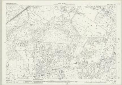 Dorset XXXV.3 (includes: Hampreston; West Parley) - 25 Inch Map