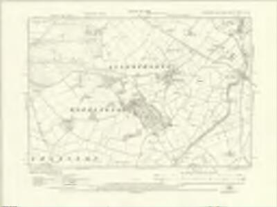 Yorkshire CXCIII.NW - OS Six-Inch Map