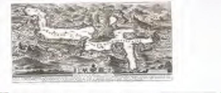 Plan du lac des IV. cantons, en Suisse