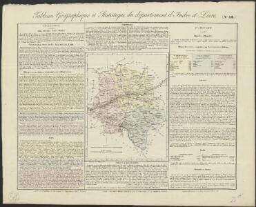 Tableau géographique et statistique du département d'Indre-et-Loire