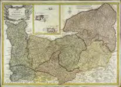 Carte de la province de Normandie