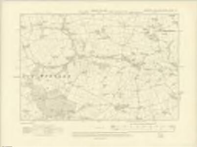 Yorkshire CXXXVI.SE - OS Six-Inch Map