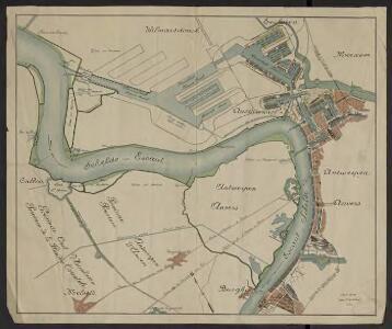 [Plan du port d'Anvers]