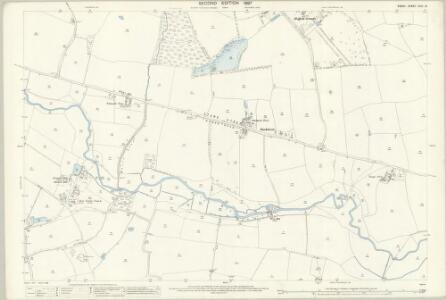 Essex (1st Ed/Rev 1862-96) XXVI.13 (includes: Bradwell; Coggeshall) - 25 Inch Map