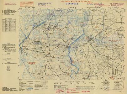 France, 1:25,000, GSGS 4347 [Defence O/P], Isigny