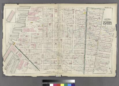 Plate 15: Part of Wards 6, 10, & 12. City of Brooklyn.