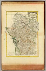 Anjou, Saumurois, Touraine, Poitou, Aunis, Saintonge, Angoumois.