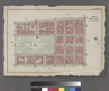 [Plate 31: Bounded by W. 8th Street, E. 8th Street, Broadway, W. 3rd Street, Macdougal, Washington Square, and West Street.]