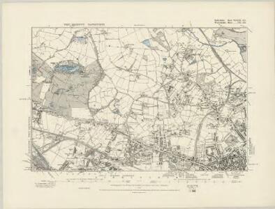 Shropshire LIIa.NW - OS Six-Inch Map