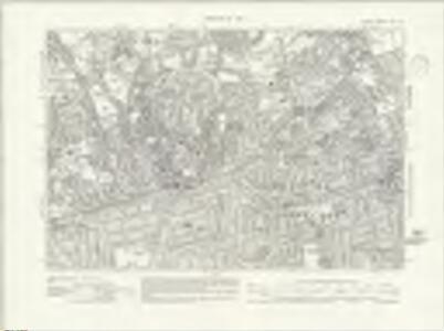 Surrey XIII.SE - OS Six-Inch Map
