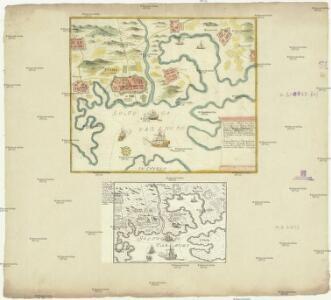 Accurater Plan der kayserl. freyen See-Hafen Fiume oder S. Veit am Flaum, an dem Golfo di Carnero und an dem Mund des Flusses Fiume auf denen inner-österreichischen See-Küsten an dem Adriatische Meer