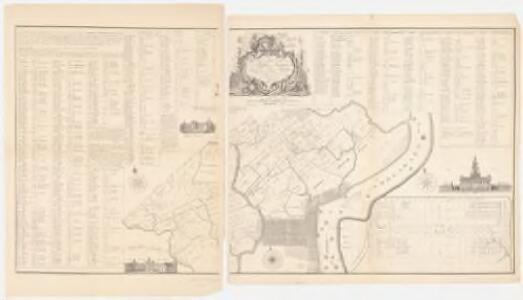 Fac simile of Reed's map : to the honourable House of Representatives of the freemen of Pennsylvania this map of the city and liberties of Philadelphia with the catalogue of purchasers is humbly dedicated by their most obedient humble servant, Iohn Reed