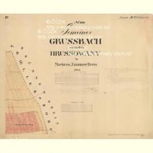 Grussbach - m0920-1-004 - Kaiserpflichtexemplar der Landkarten des stabilen Katasters