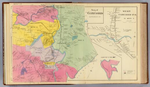Town of Concord; W. Concord P.O.