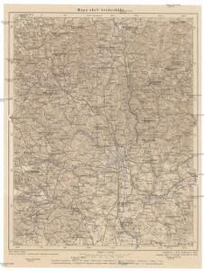Mapa okolí brněnského