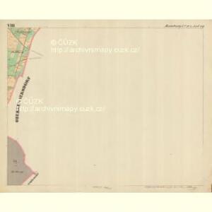 Rumburg - c6626-1-009 - Kaiserpflichtexemplar der Landkarten des stabilen Katasters