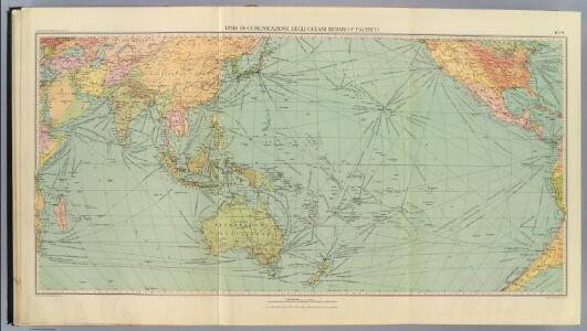 6-8. Linee di comunicazione, oceano Indiano, Pacifico.