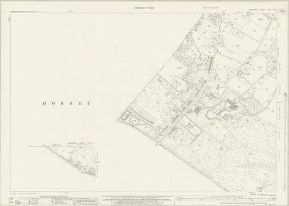 Hampshire and Isle of Wight LXXXV.3 & 7 (includes: Bournemouth; Poole) - 25 Inch Map