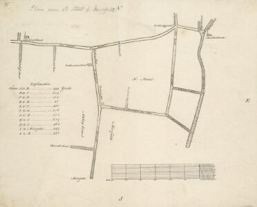 An Actual Survey of the Parish of St. Leonard in Shoreditch, Middlesex, taken in the Year 1745 by Peter Chassereau. 5