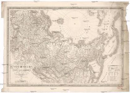 General Charte vom Russischen Reiche in Europa, Asien und America