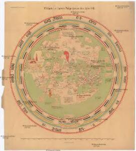 Weltkarte des Andreas Walsperger aus dem Jahre 1448