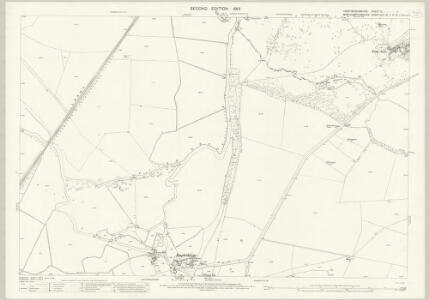 Huntingdonshire IV.11 (includes: Elton; Fotheringhay; Warmington) - 25 Inch Map