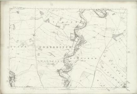 Wiltshire LIV - OS Six-Inch Map